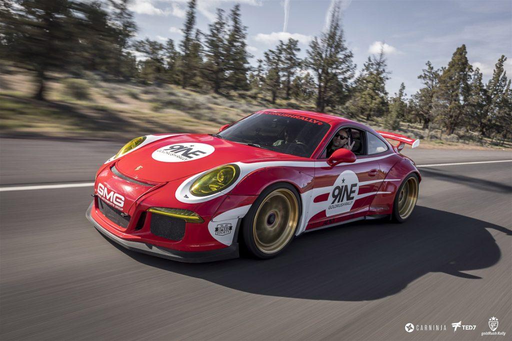 Salzburg Porsche Rolling Shot