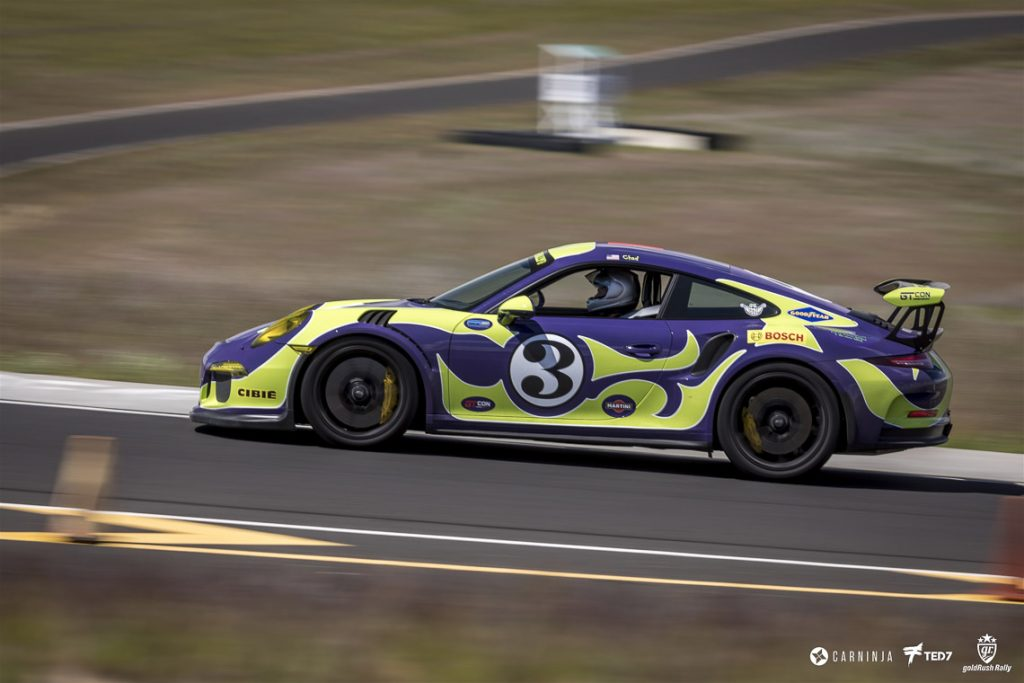 Hippie Porsche 991 GT3 RS at the Track