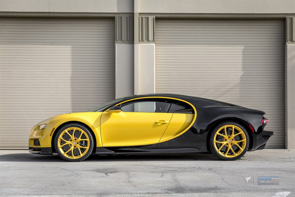 Bugatti Chiron From the Side - Profile Photo