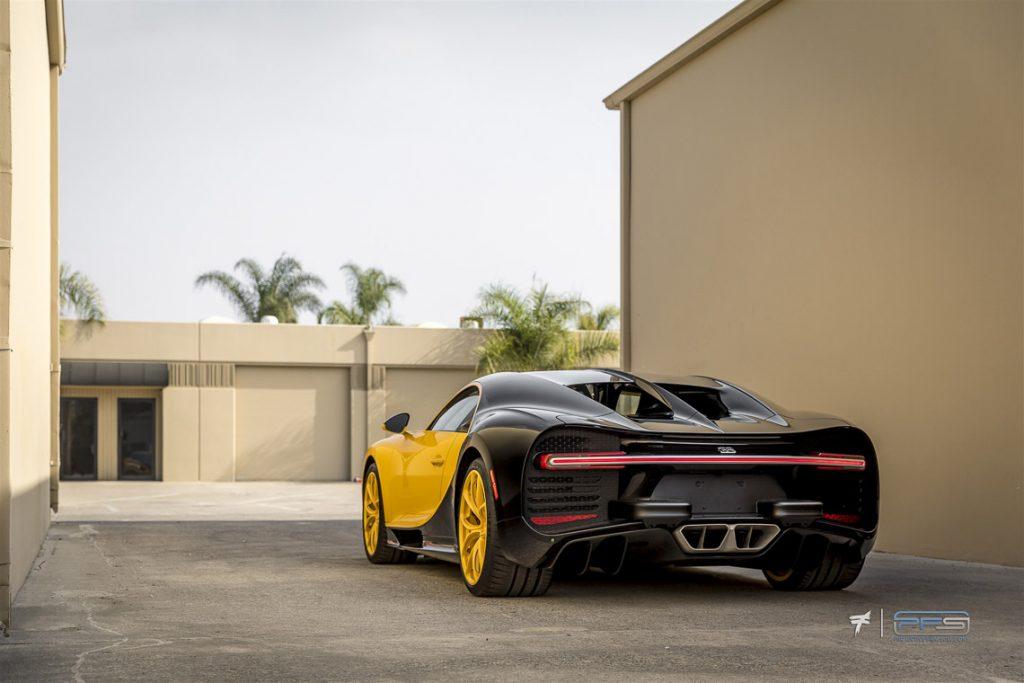 Bugatti Chiron at PFS