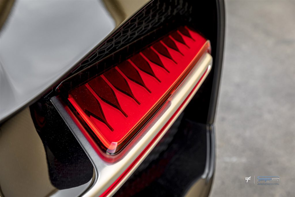Bugatti Chiron Tail Lights