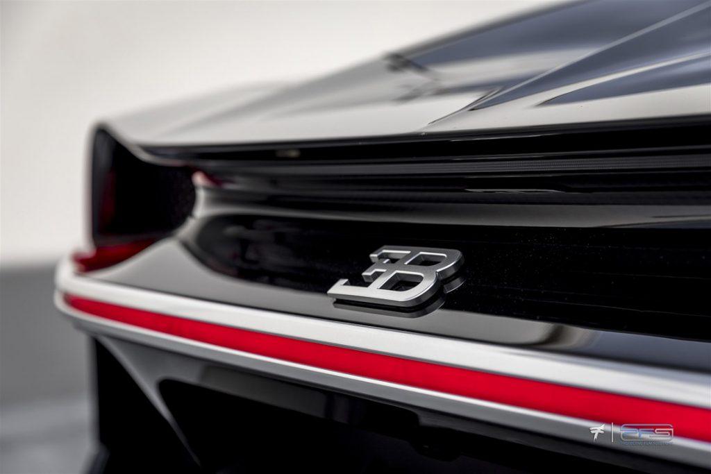 Bugatti Chiron Rear Emblem