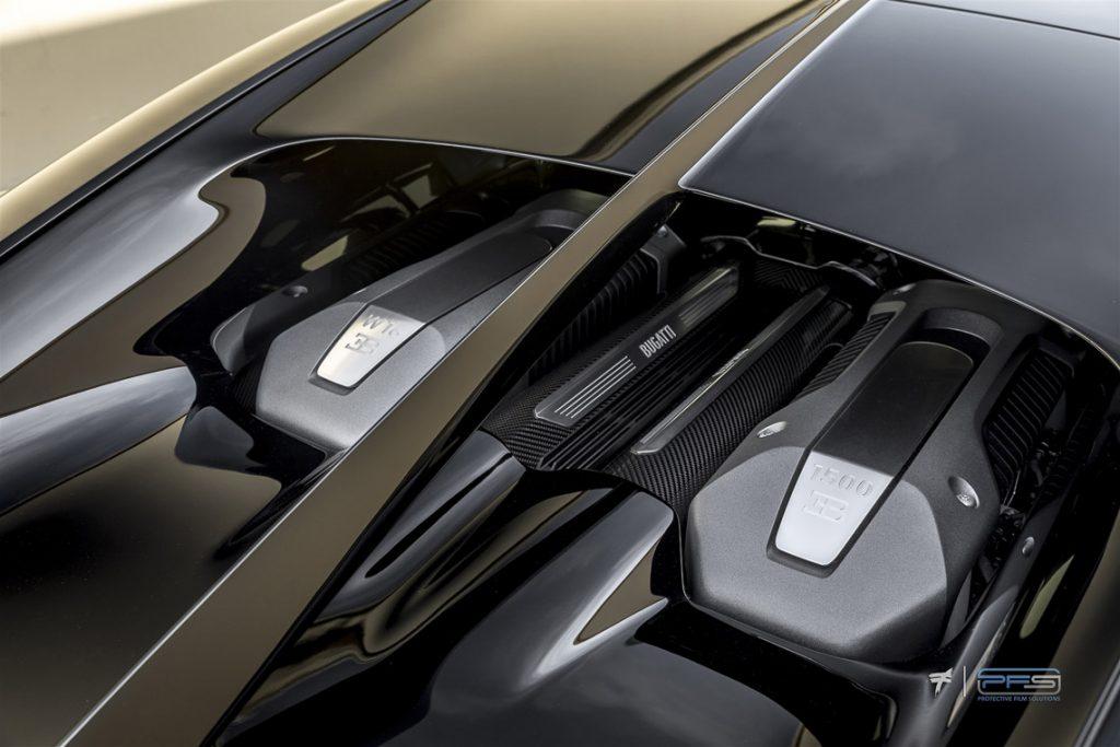Bugatti Chiron Engine Lid