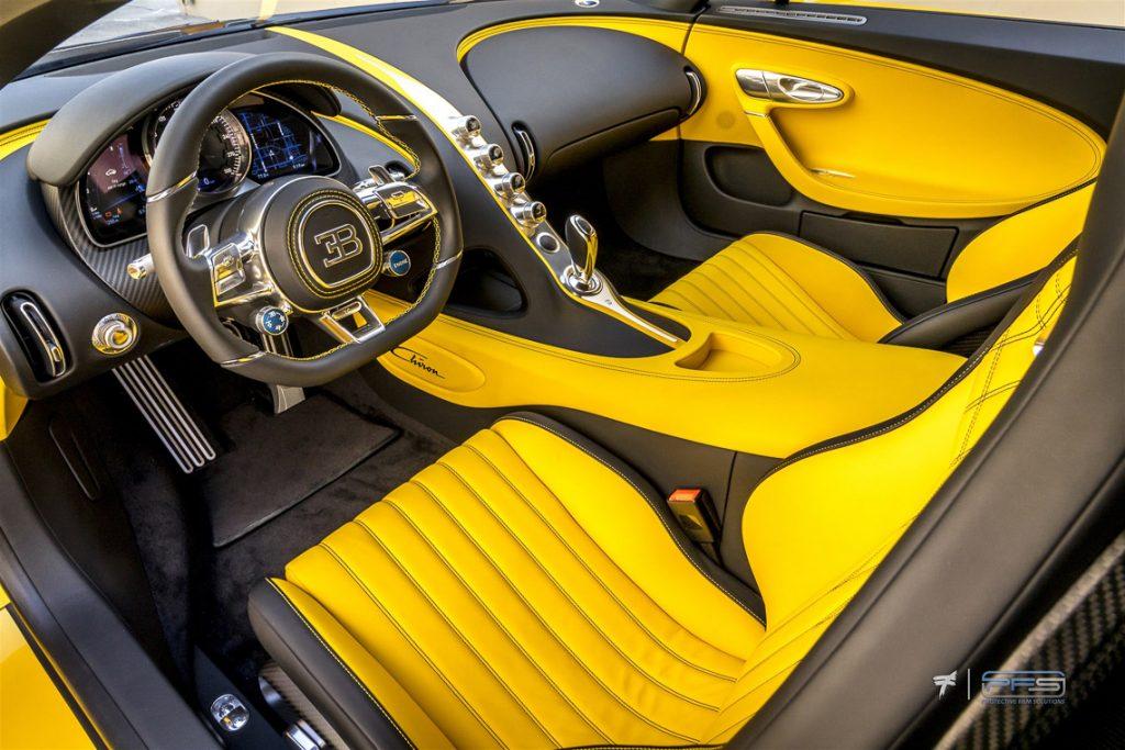 Bugatti Chiron Interior - PFS