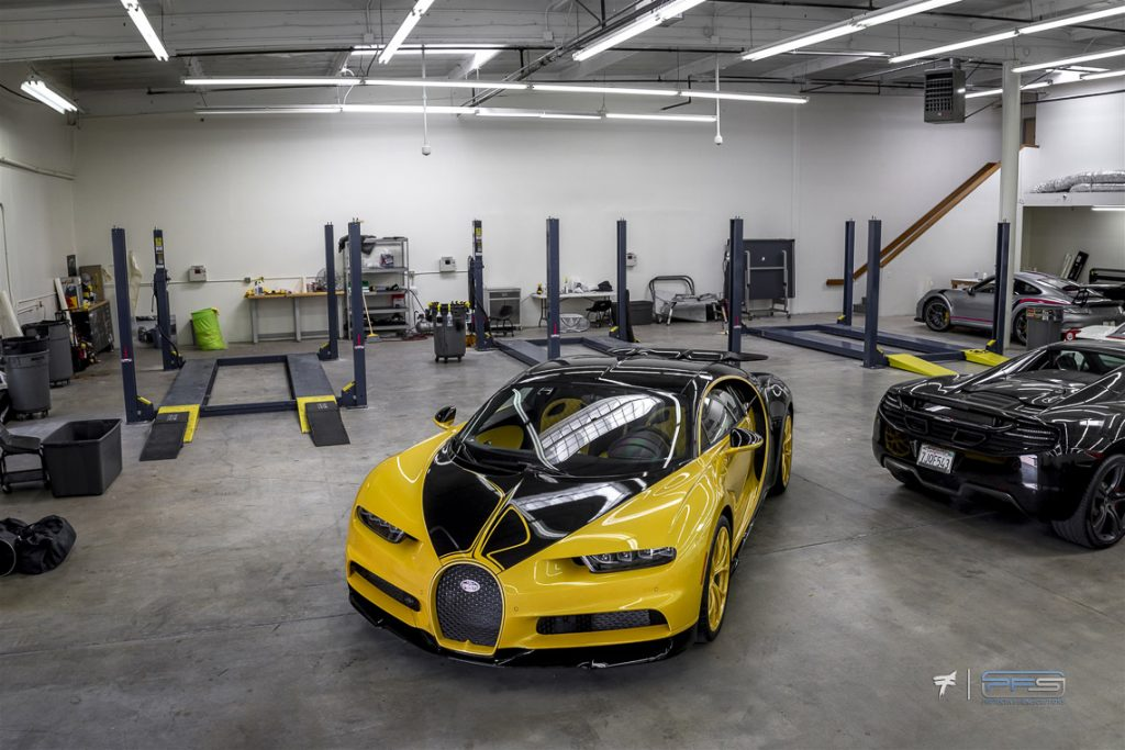 Bugatti Chiron at Protective Film Solutions