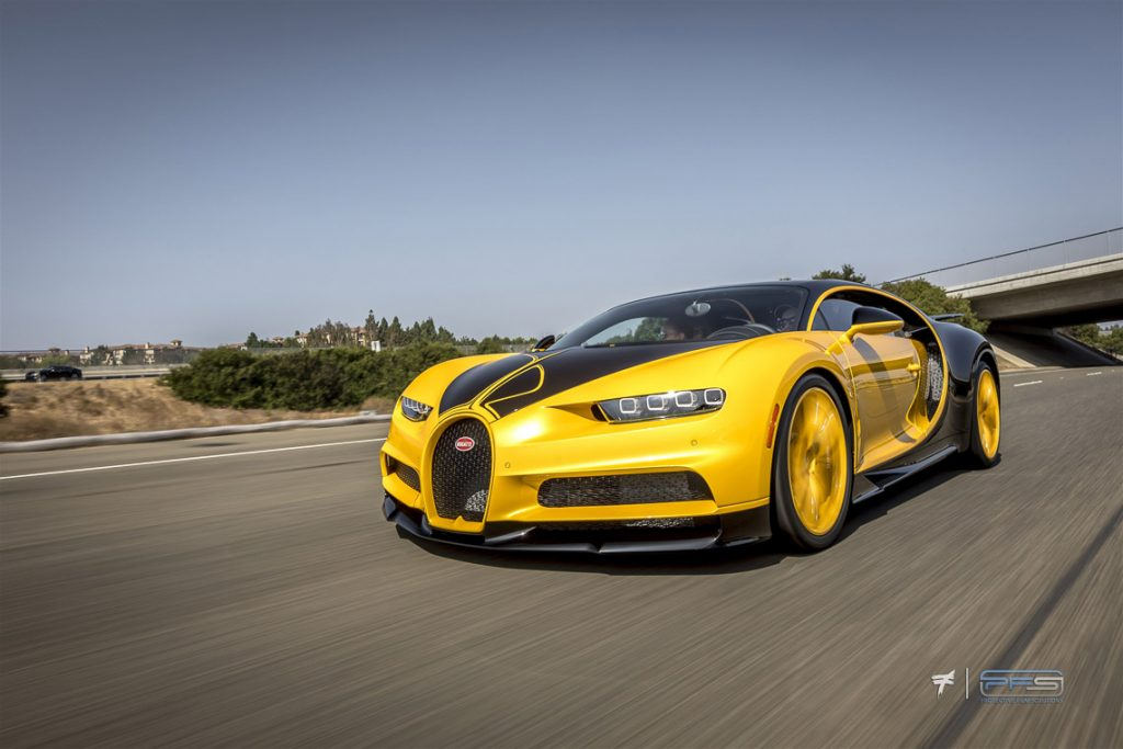 Bugatti Chiron Hellbee at Speed by Ted 7.