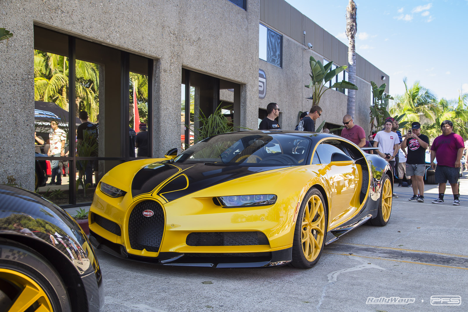 Bugatti Chiron at the PFS Open House 2017