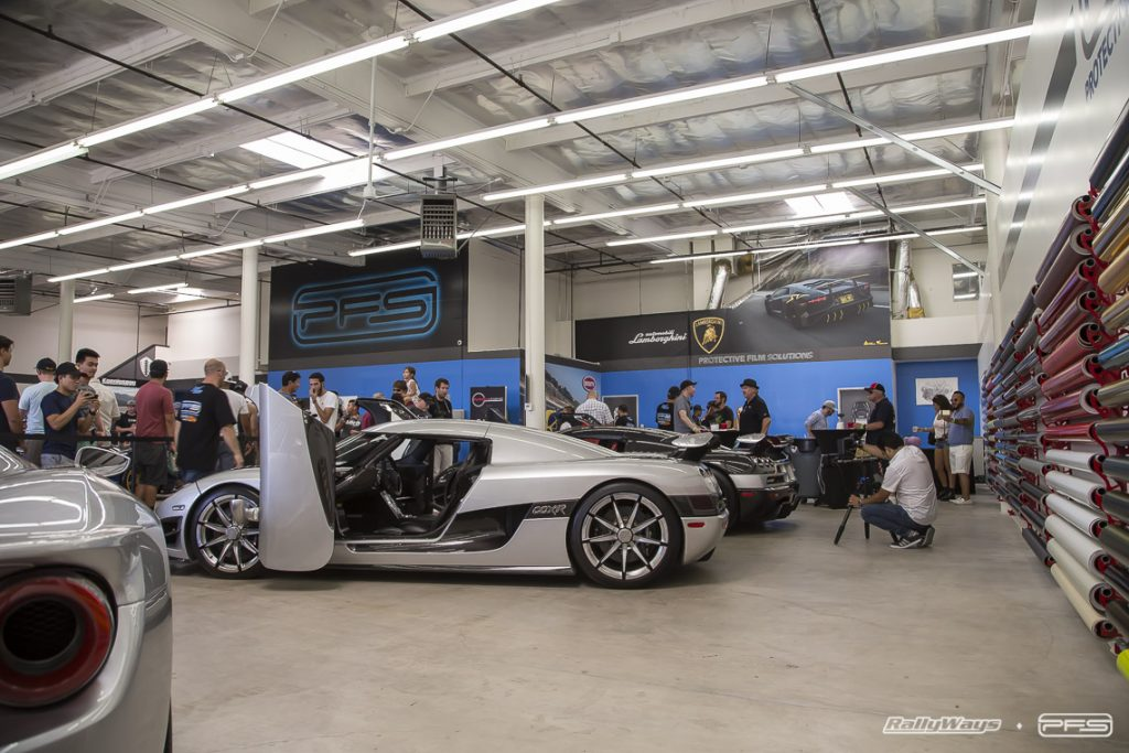 Koenigsegg Section - PFS Open House