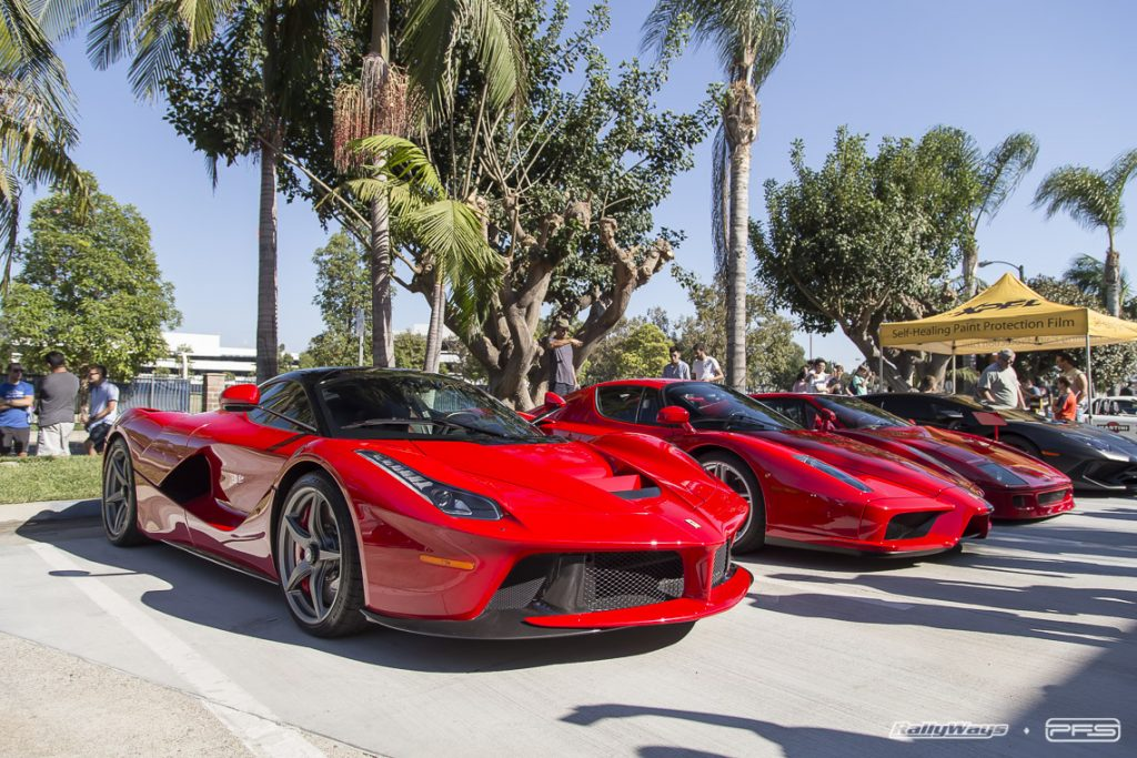 Ferrari LaFerrari and Ferrari Enzo