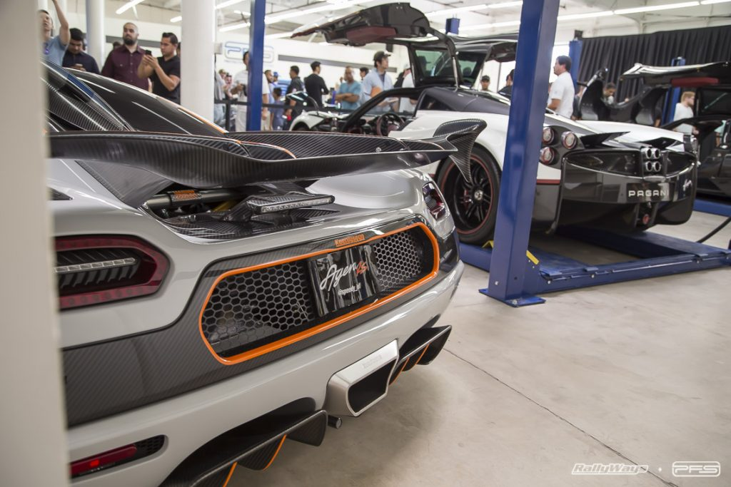 Rear of Koenigsegg Agera R