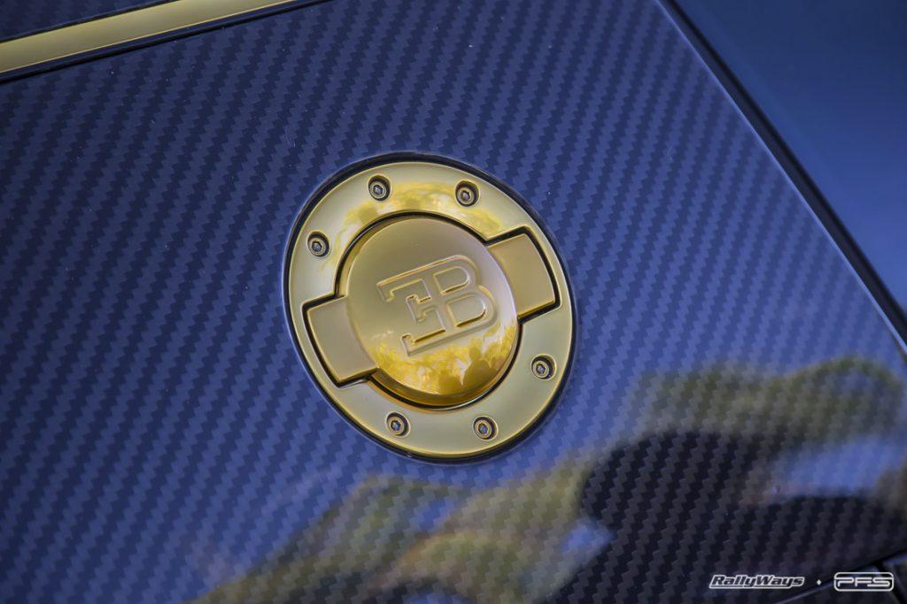 Gas Cap of a Bugatti Veyron Mansory