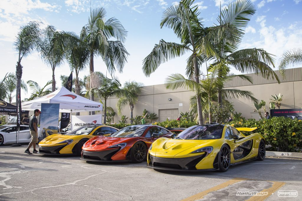 Three McLaren P1s at PFS