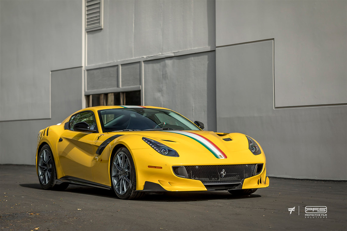 Ferrari F12 TDF Gloss Finish PPF - PFS