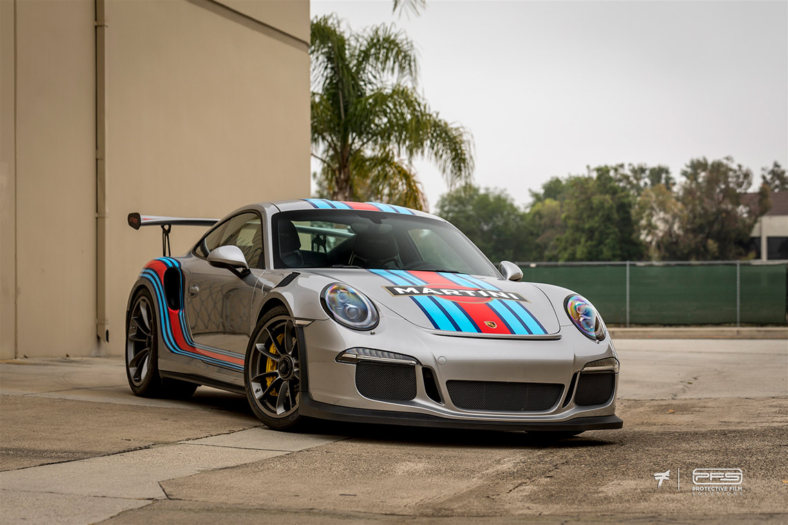 Gloss Porsche 991 GT3 RS Martini