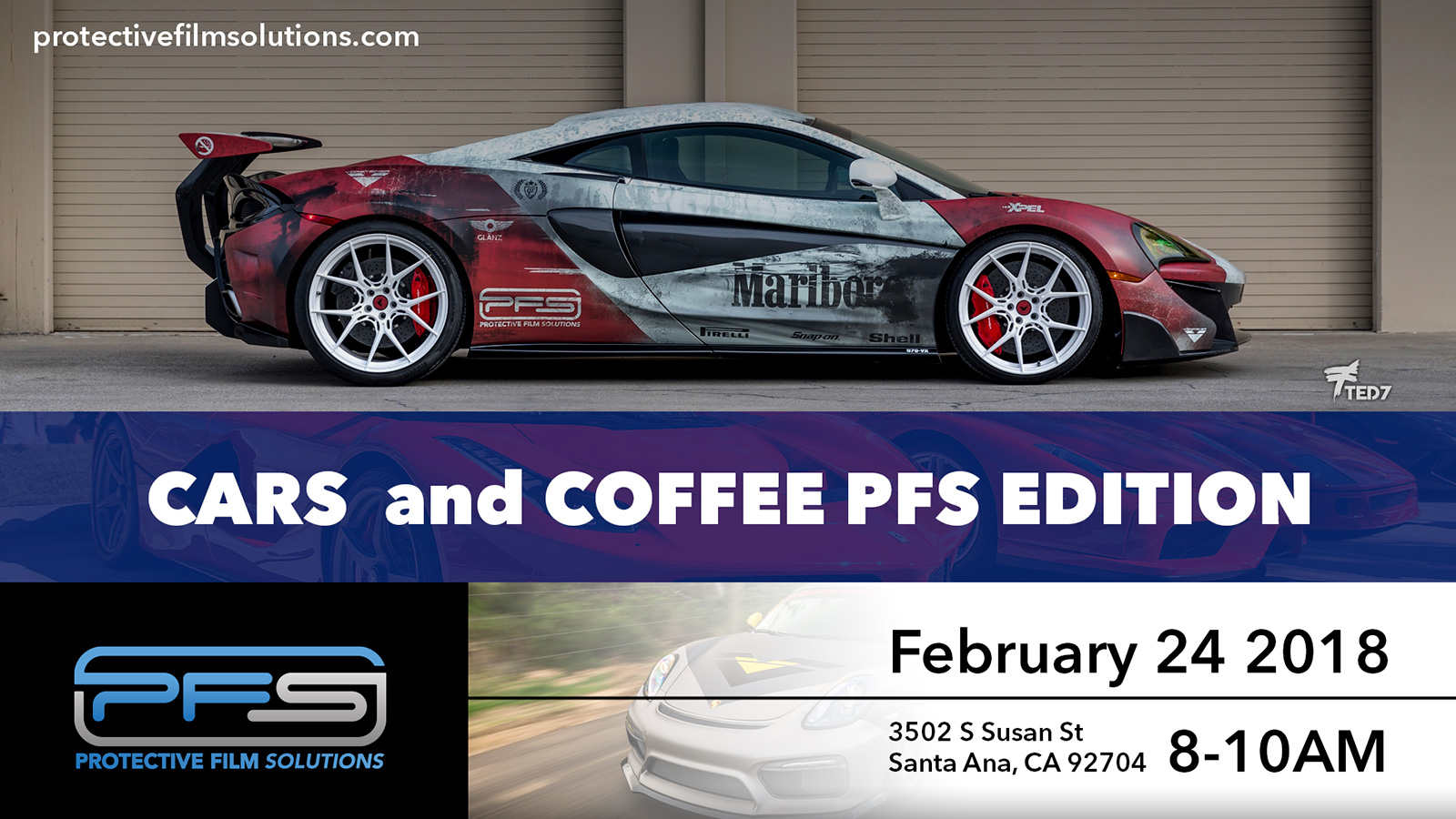 PFS Cars and Coffee PFS Edition 2018