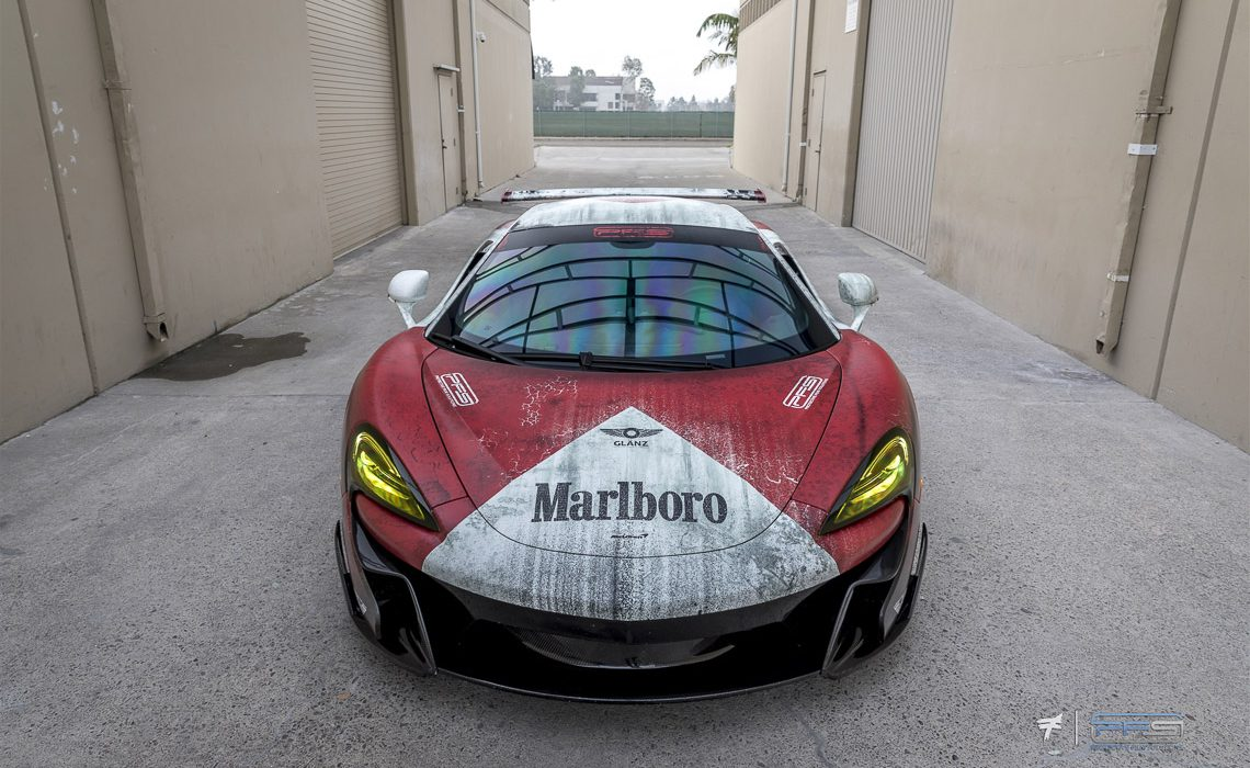 Marlboro McLaren Livery Classic F1 570S by Protective Film Solutions