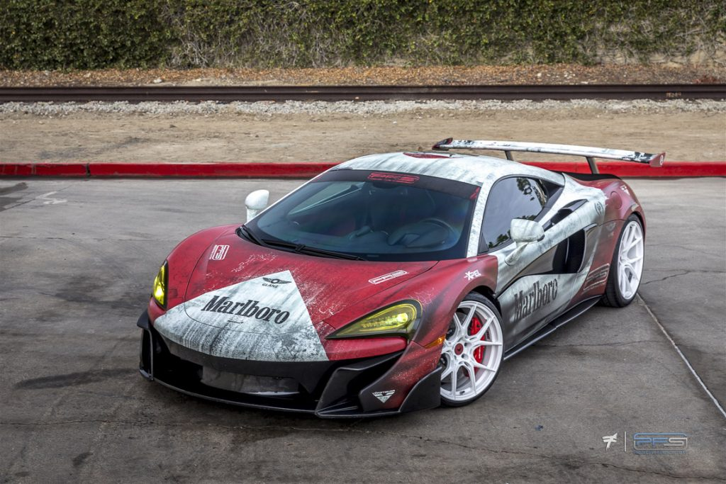 Protective Film Solutions McLaren Marlboro 570S - Photo by Ted 7.