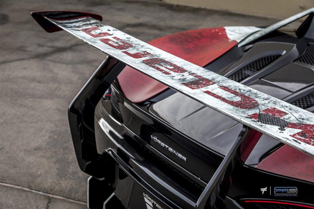 McLaren Marlboro Wing - Protective Film Solutions
