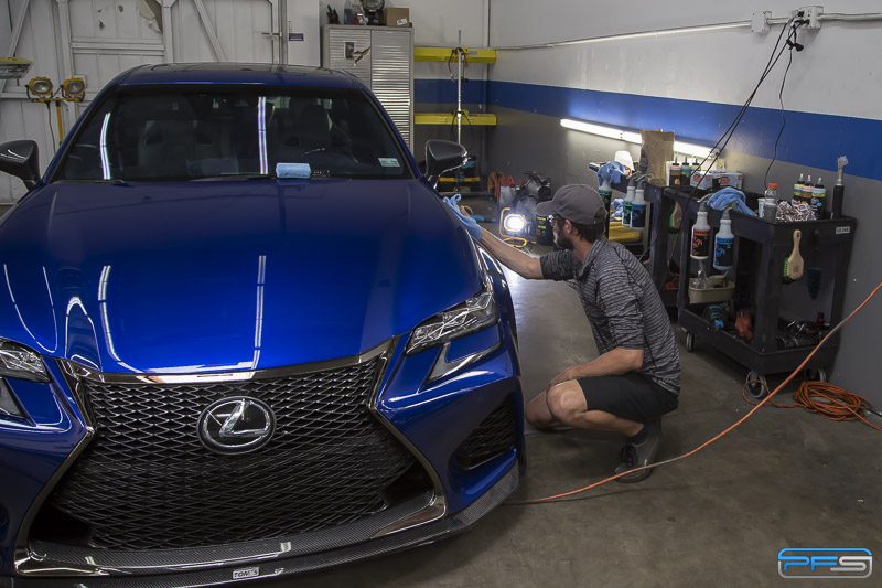 High End Vehicle Paint Correction and Detailing in Santa Ana California.