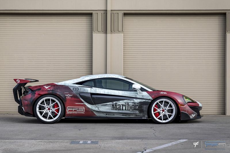 PFS Car Wraps Orange County California