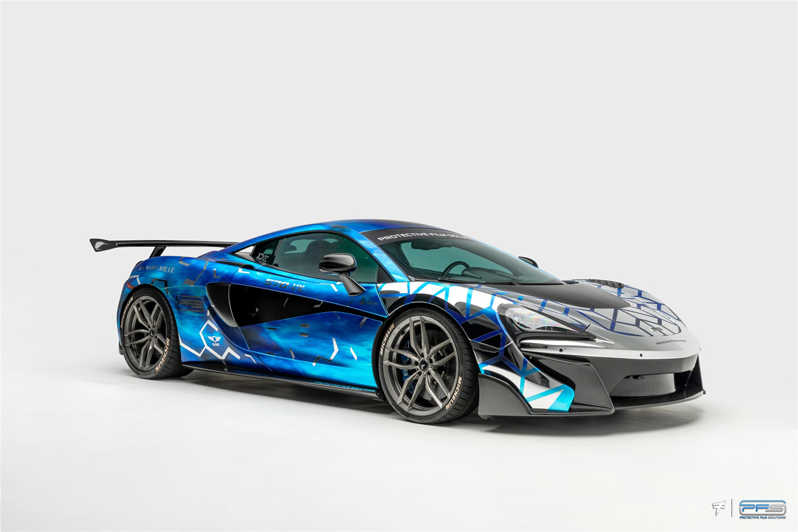 McLaren PFS 570S Wrapped - Studio