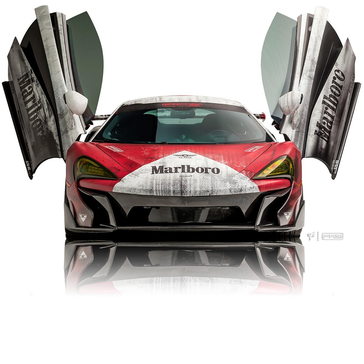 PFS McLaren 570VX Marlboro Front