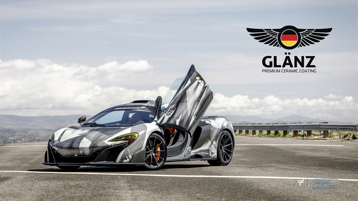 Glanz Ceramic Coatings by Protective Film Solutions