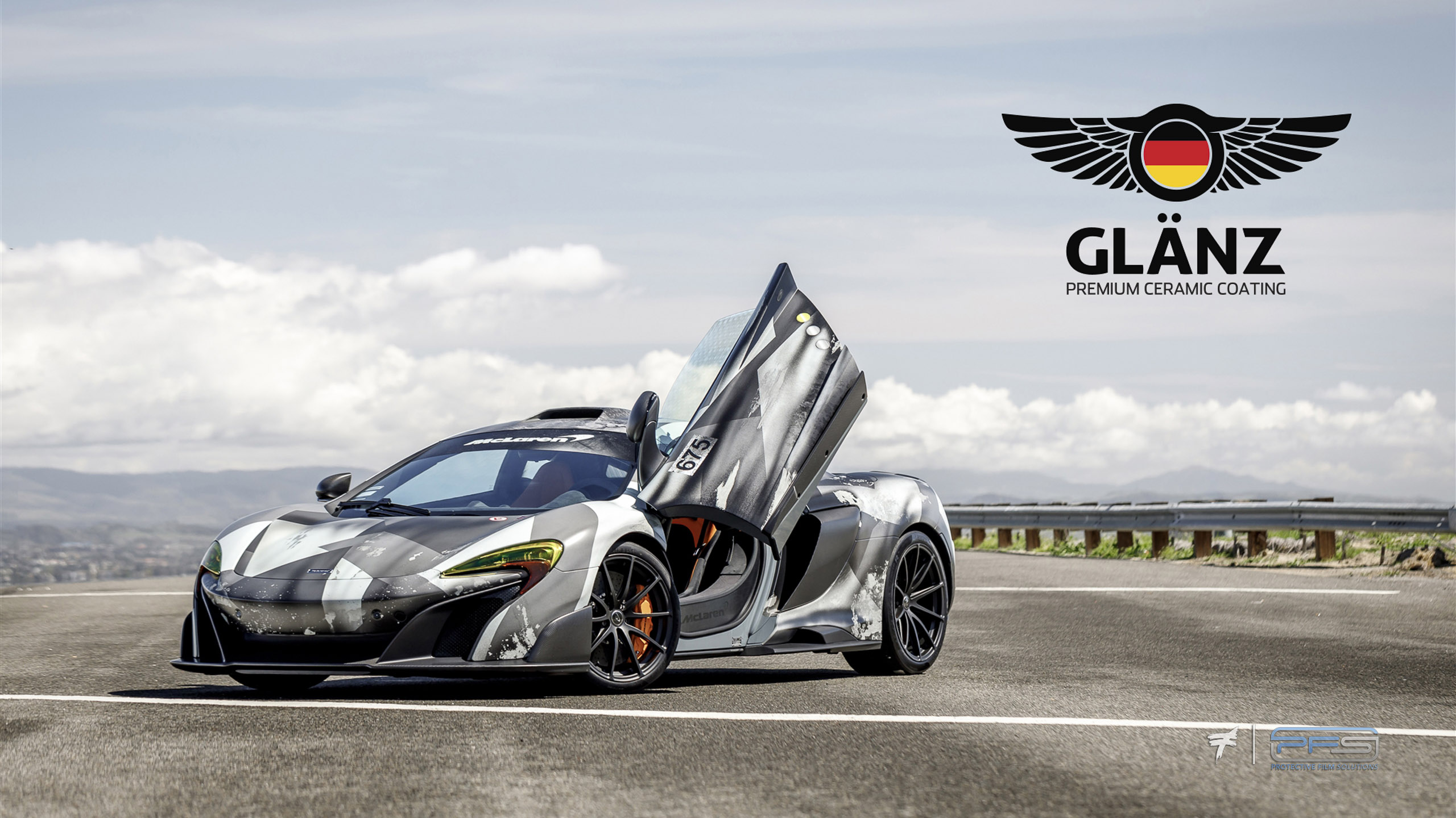 Glanz Premium Ceramic Coating McLaren 675LT - PFS