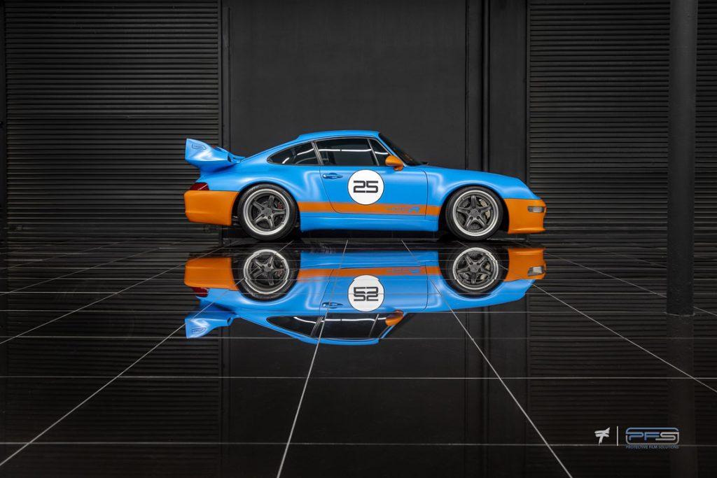 Side View Porsche 993 Gunther Werks - PFS