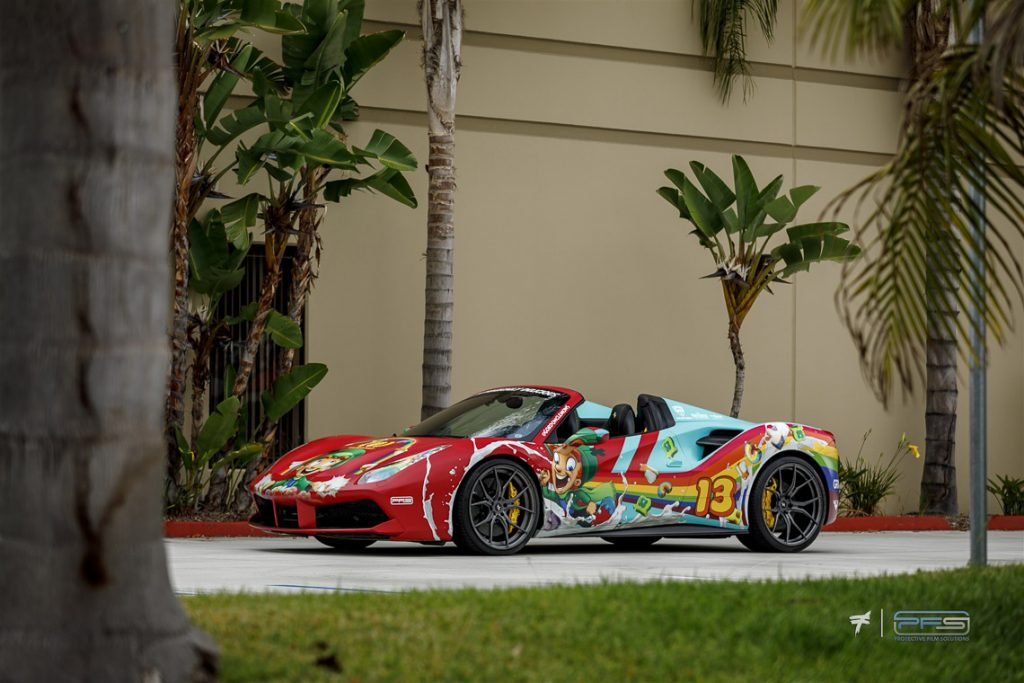Lucky Charms Ferrari 488 Spider by PFS