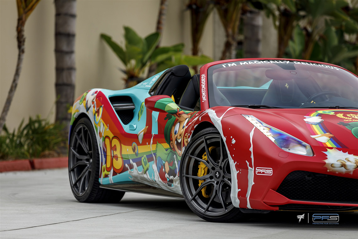Ferrari 488 Lucky Charms