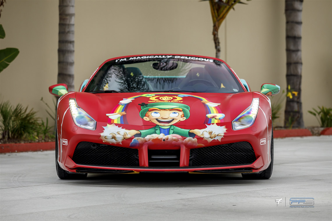 Lucky Charms Ferrari 488 Spider