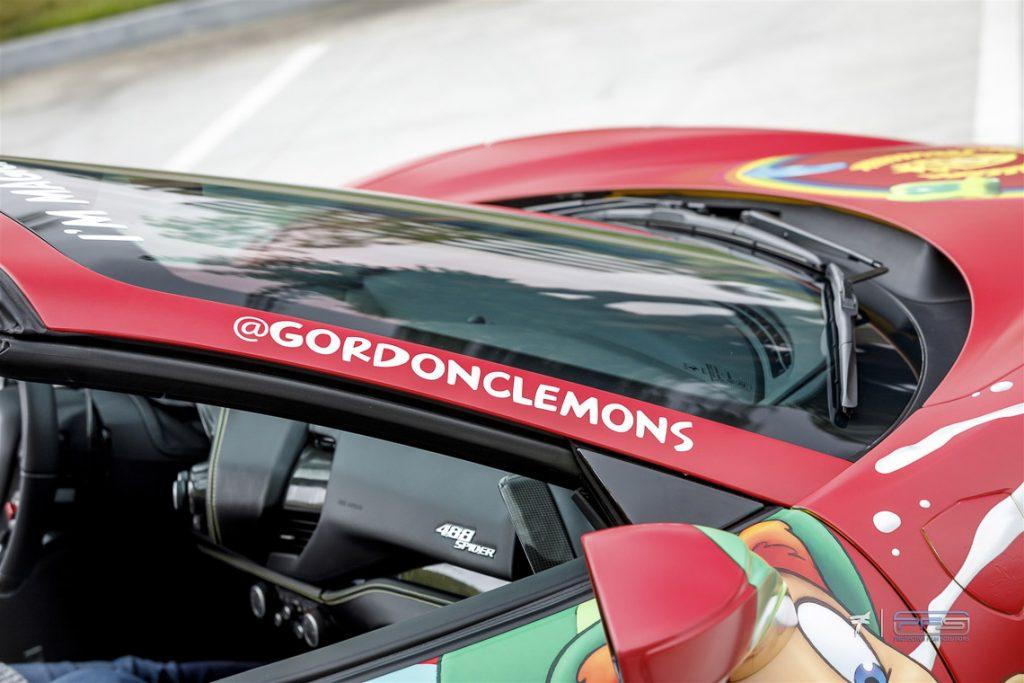 @gordonclemons Ferrari 488 Spider