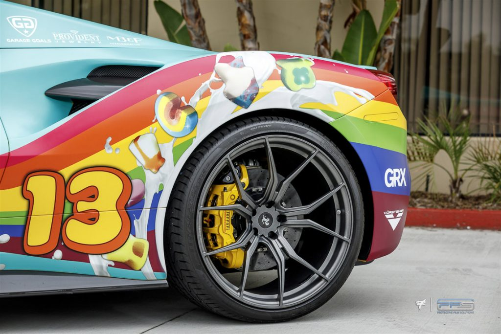Ferrari 488 Spider Lucky Charms Design