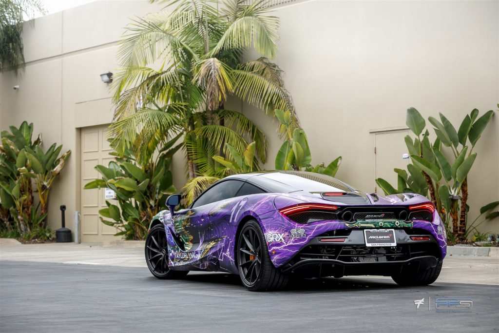 Taylor Lynn Foundation McLaren 720S - Skepple Design