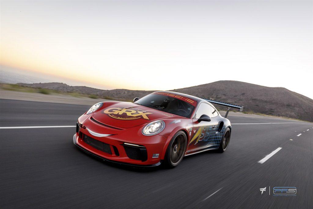 PFS Porsche 991 Turbo S Street Cup Rolling Shot