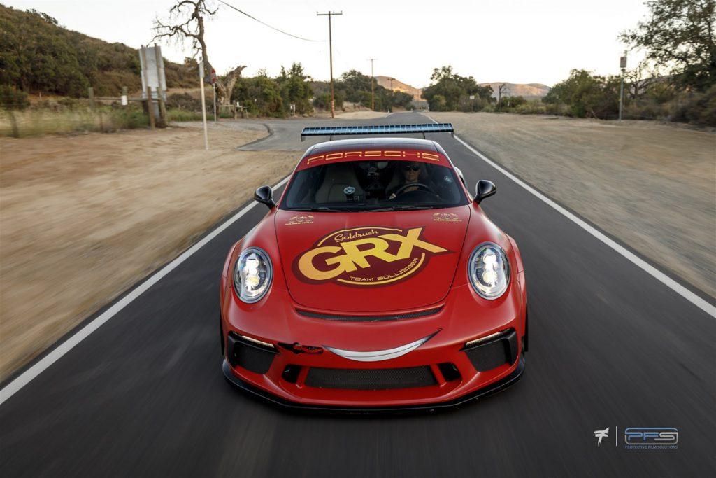 Lightning McQueen Porsche 991 Turbo S Street Cup