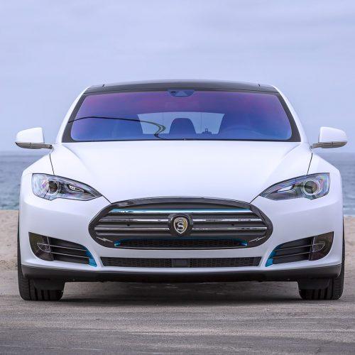 Strut Tesla Model S - PFS Paint Protection Film
