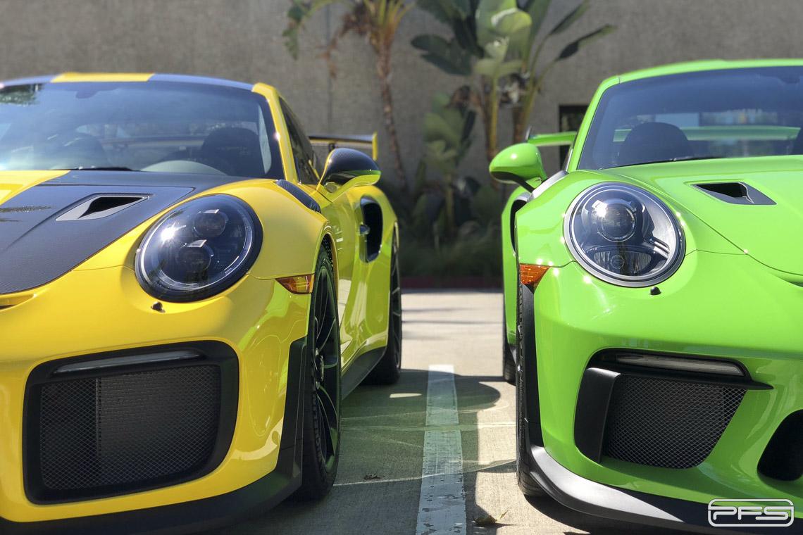 Porsche 991 GT3 RS vs Porsche 991 GT2 RS - Differences.