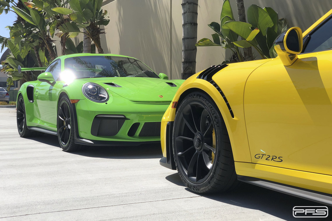 Porsche 991 GT3 RS and GT2 RS - Video by PFS