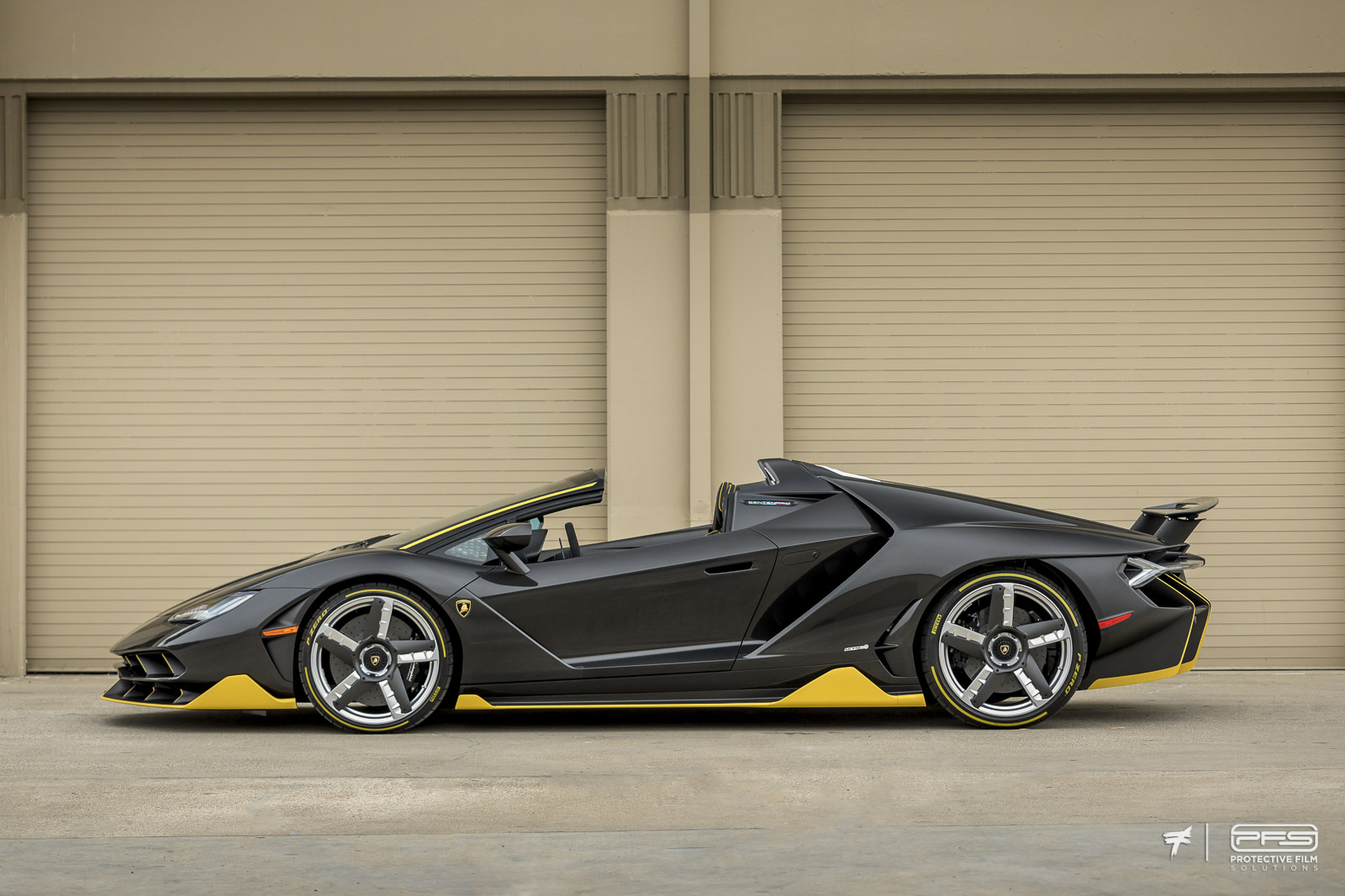 Lamborghini Centenario Paint Protected by PFS