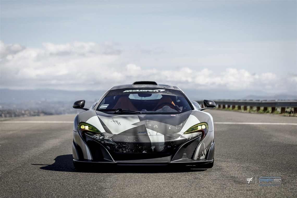 McLaren 675LT Wrapped by Protective Film Solutions