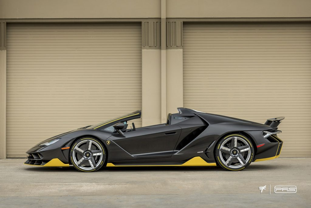 Lamborghini Centenario Roadster Side Profile - Photo by Ted 7.