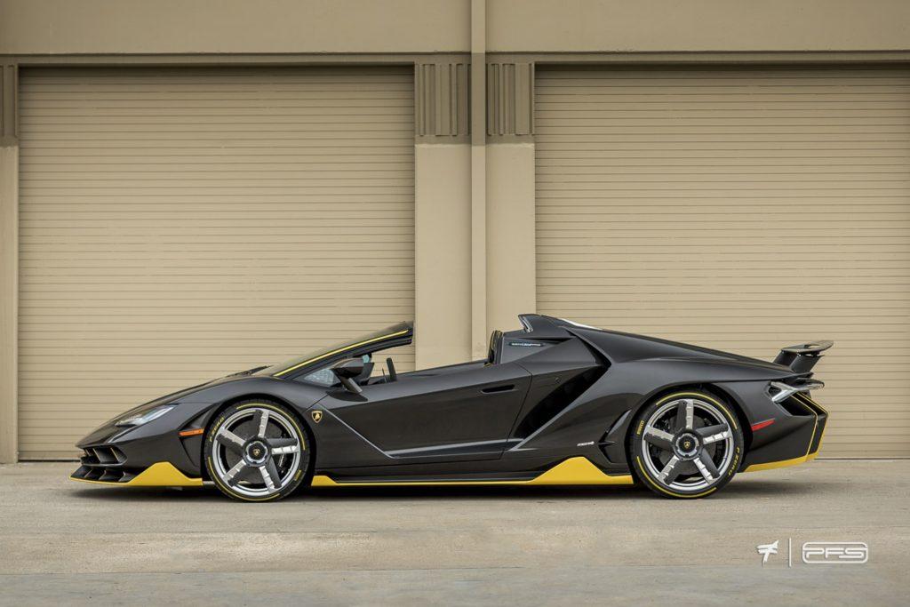 Lamborghini Centenario Roadster Side Profile - Photo by Ted 7.