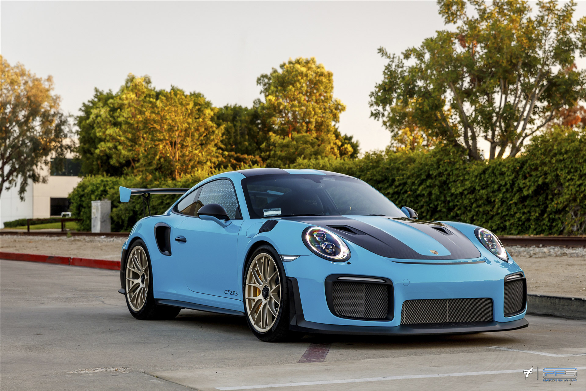 Porsche 991 GT2 RS Full Body Paint Protection