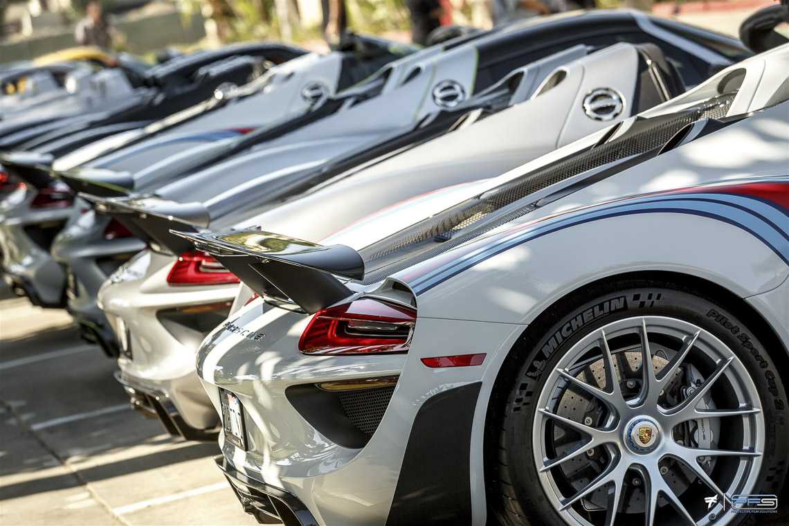 Porsche 918 Spyder Collection at PFS