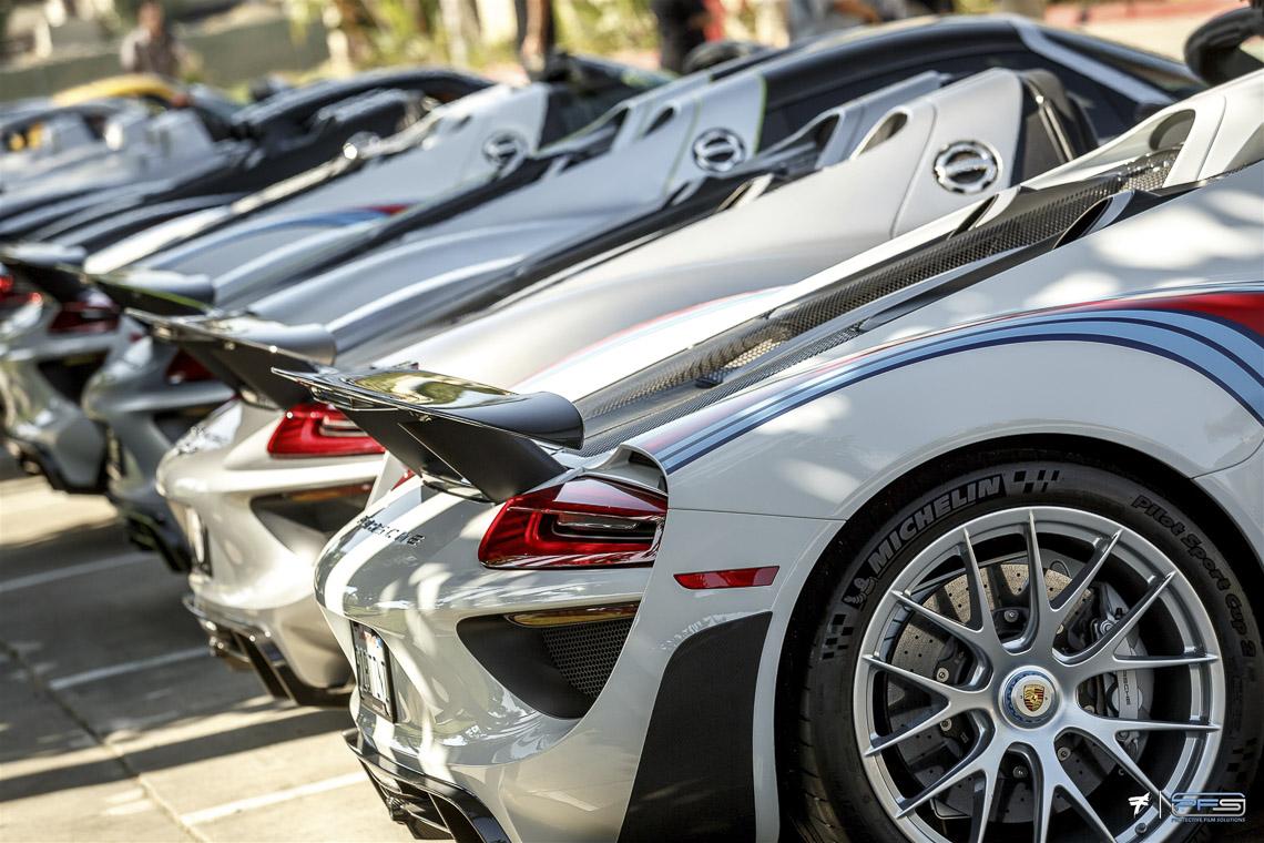 Porsche 918 Spyder Collection at PFS
