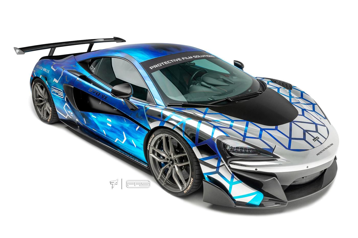 PFS McLaren 570VX 2019 Wrap
