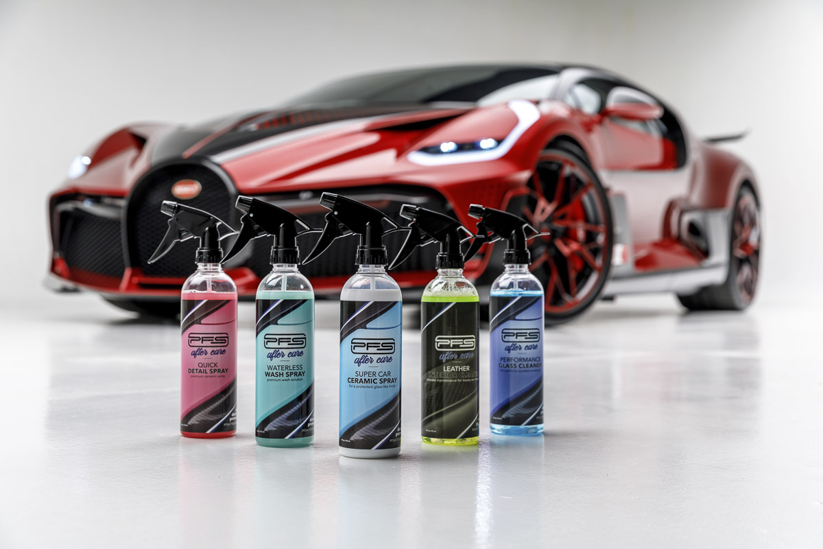 PFS After Care Car Care Products Lineup