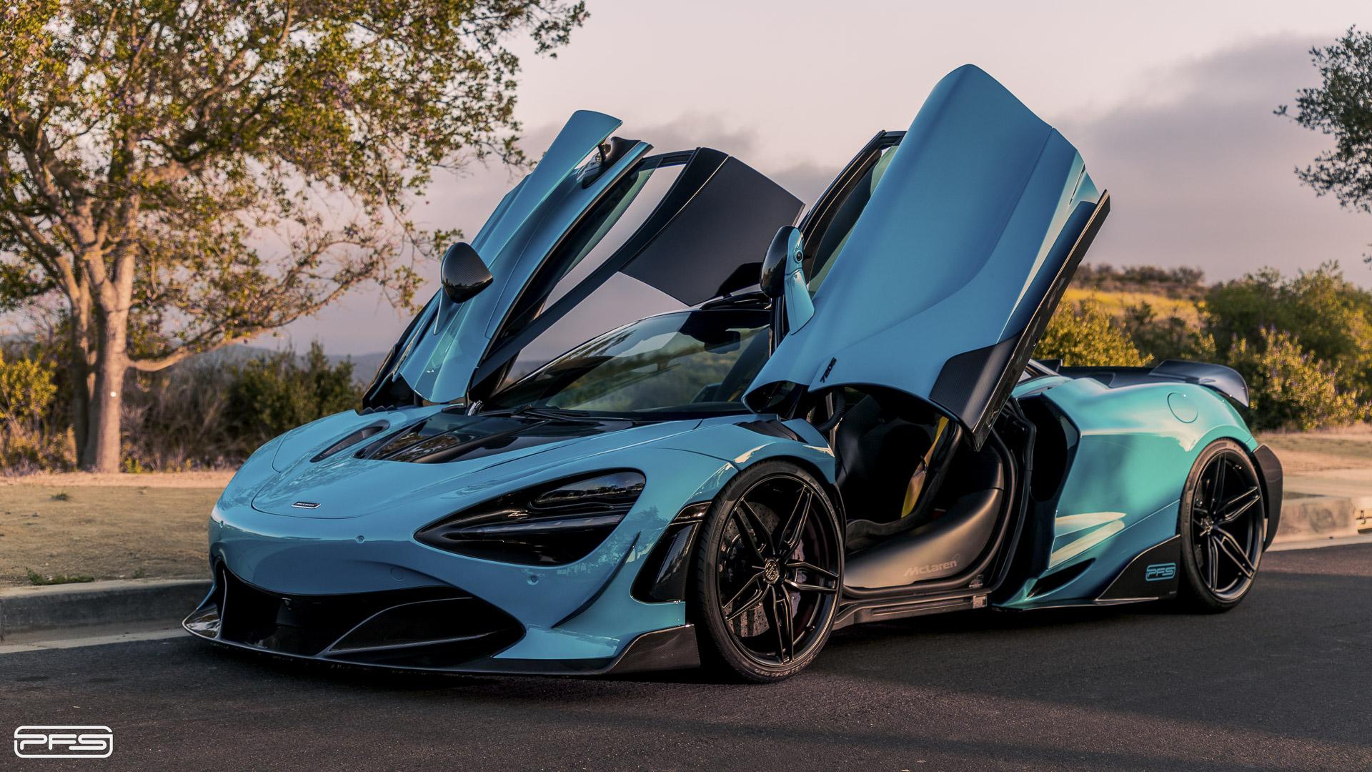 McLaren 720S Protective Film Solutions